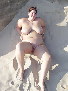 Fat Beach Pictures - Nude Beach Porn