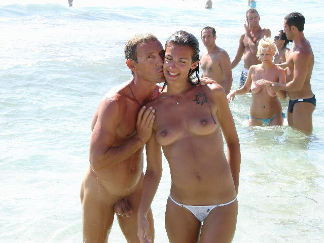 Nudist beaches cfnm